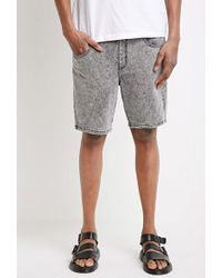 Forever 21 - Acid Wash French Terry Sweatshorts - Lyst