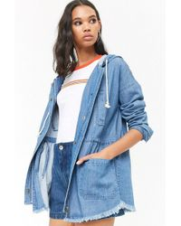 Forever 21 - Denim Utility Jacket - Lyst