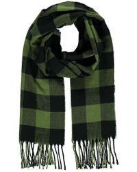 Forever 21 - Men Flannel Check Scarf - Lyst
