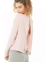 Forever 21 - Active Open-back Top - Lyst