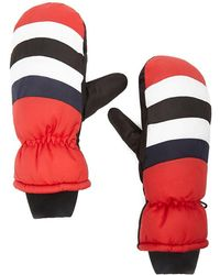 Forever 21 - Padded Colorblock Mittens , Red/multi - Lyst