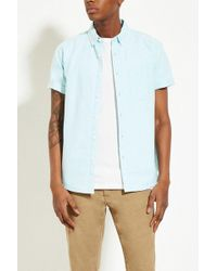 Forever 21 - Cotton Oxford Shirt - Lyst