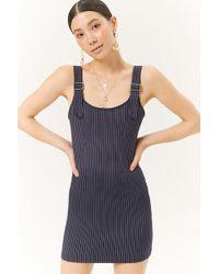 Forever 21 - Women's Pinstriped Mini Dress - Lyst