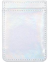 Forever 21 - Idecoz Iridescent Adhesive Phone Pocket - Lyst