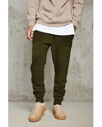 Forever 21 - Drop-crotch Ruched Joggers - Lyst