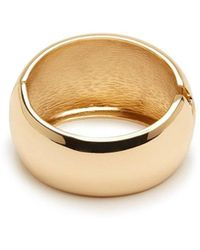Forever 21 - Goldtone Hinge Bracelet , Gold - Lyst