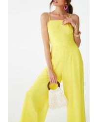6e31f7878c6c Lyst - Forever 21 Classic Chiffon Jumpsuit You ve Been Added To The ...