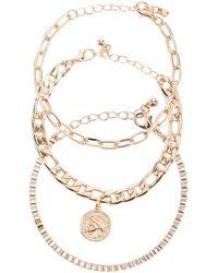 Forever 21 - Charm Bracelet Set - Lyst