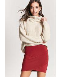 Forever 21   Tulip-hem Bandage Skirt   Lyst