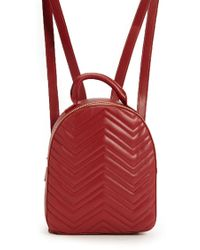 bc64f722c7ad Forever 21 Faux Leather Backpack in Brown - Lyst