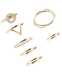 Forever 21 - Stackable Ring Set - Lyst