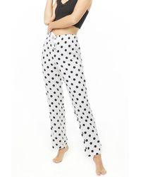 Forever 21 - Polka Dot Pajama Pants - Lyst