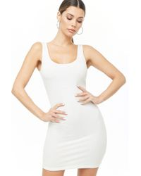 Forever 21 - Women's Ribbed Knit Bodycon Dress - Lyst