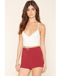 Forever 21 - Crepe Shorts - Lyst