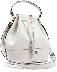 Forever 21 - Textured Faux Leather Bucket Bag - Lyst