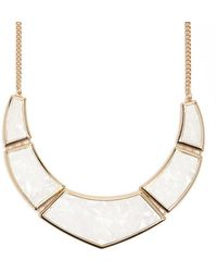 Forever 21 - Geo Statement Necklace - Lyst