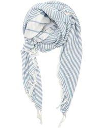 Forever 21 - Stripe Tassel Oblong Scarf - Lyst