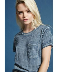 Forever 21 - Mineral Wash Tee - Lyst