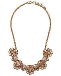 Forever 21 | Faux Gem Statement Necklace | Lyst
