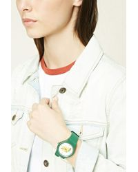 Forever 21 - Taco Graphic Analog Watch - Lyst
