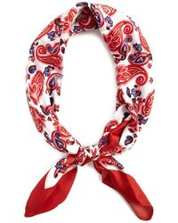 Forever 21 - Colorblock Floral Paisley Print Headwrap - Lyst