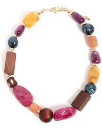 Forever 21 - Chunky Beaded Necklace - Lyst