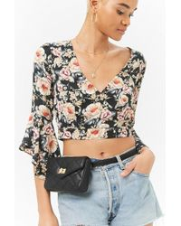 Forever 21 - Quilted Fanny Pack - Lyst