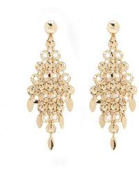 Forever 21 - Diamond-shaped Chandelier Earrings - Lyst