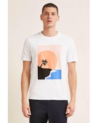 Forever 21 - Sunset Graphic Tee - Lyst
