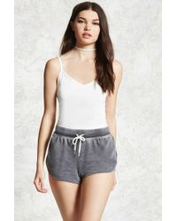 Forever 21 | Faded Dolphin Hem Shorts | Lyst