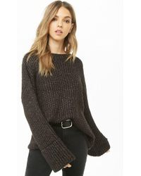 Forever 21 - Chunky Ribbed Knit Sweater - Lyst