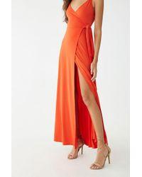 f96800af3ca8 H&M Cotton Maxi Dress in Natural - Lyst