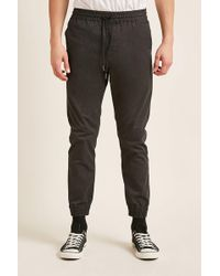 Forever 21 - Woven Drawstring Joggers - Lyst