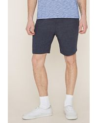 Forever 21 - Drawstring Fleece Shorts - Lyst