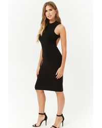 Forever 21 - Cutout Bodycon Dress - Lyst