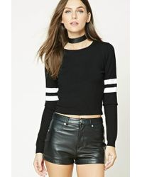 Forever 21 | Varsity Striped Jumper | Lyst