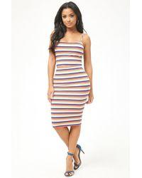 Forever 21 - Striped Pencil Skirt - Lyst