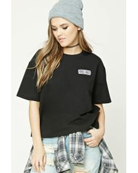 Forever 21 - Oui Oui Patch Tee - Lyst