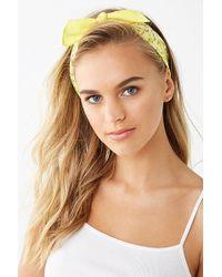 Forever 21 - Bandana Print Headwrap - Lyst