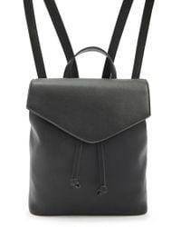 Forever 21 - Flap Drawstring Backpack - Lyst