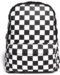 Forever 21 - Chequered Print Backpack - Lyst