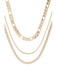 Forever 21 - Assorted Chain-link Necklace Set - Lyst