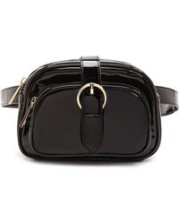 Forever 21 - Faux Patent Leather Belt Bag - Lyst