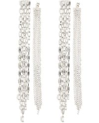 Forever 21 - Faux Crystal Duster Ear Jackets - Lyst
