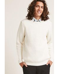 Forever 21 - Double Seed Knit Jumper - Lyst