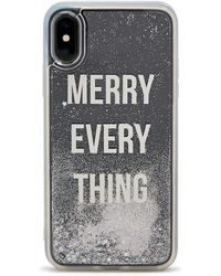 Forever 21 Merry Everything Case For Iphone X/xs , Silver - Metallic