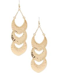 Forever 21 - Tiered Drop Earrings - Lyst