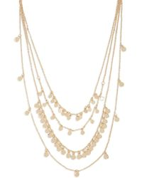 Forever 21 - Women's Layered Disc Charm Chain Necklace - Lyst