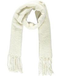 Forever 21 - Brush Knit Scarf , Cream - Lyst