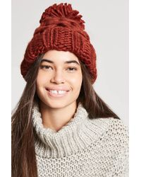 Forever 21 - Chunky Cable-knit Beanie - Lyst